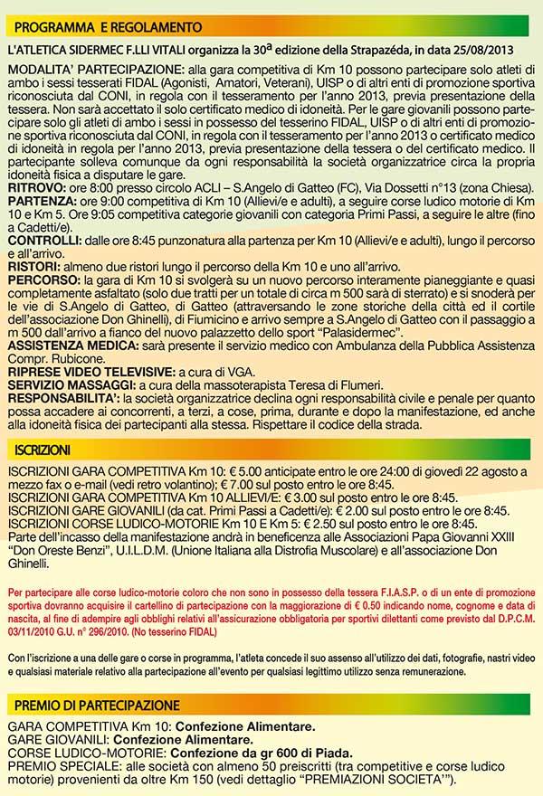 Locandine sant 39 angelo di gatteo fc 30a strapazeda 2013 for Gardini per arredare gatteo fc