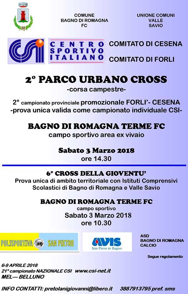 Locandine - Bagno di Romagna Terme (FC) - 6° Cross della Gioventù ...