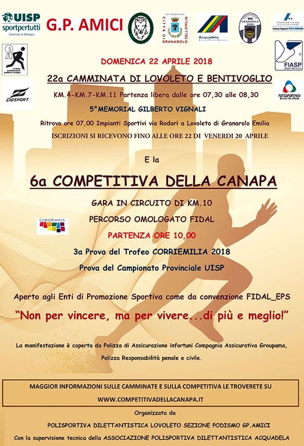 6ª Competitiva della Canapa